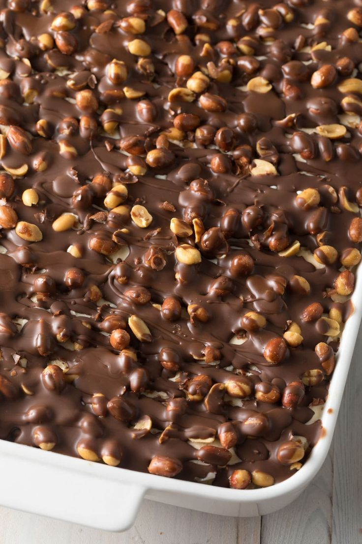 Buster Bar Ice Cream Cake (Video) - A Spicy Perspective