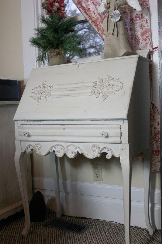 vintage ornate french provincial writing desk secretary desksfrench provincial