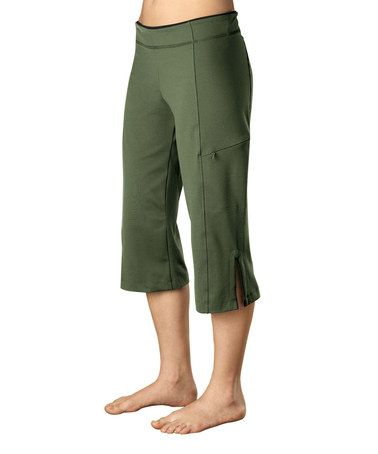 This Kale Rockin Capri Pants by Stonewear Designs is perfect! #zulilyfinds
