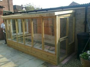 Bespoke Lean to Greenhouse | Lean to greenhouse, Lean to ... on Bespoke Outdoor Living id=73510