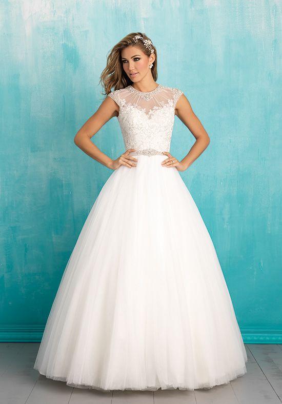 Allure Bridals Wedding Dresses Wedding Dress Necklines Allure Wedding Dresses Ball Gowns Wedding