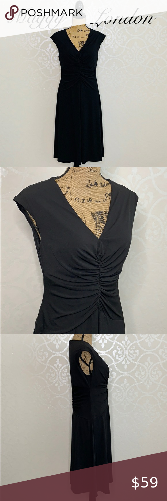 Maggy London Little Black Dress Size 12 This Dress Is Gorgeous And Is The Perfect Little Black Dress It Has Ca Little Black Dress Maggy London Dresses Dresses [ 1740 x 580 Pixel ]