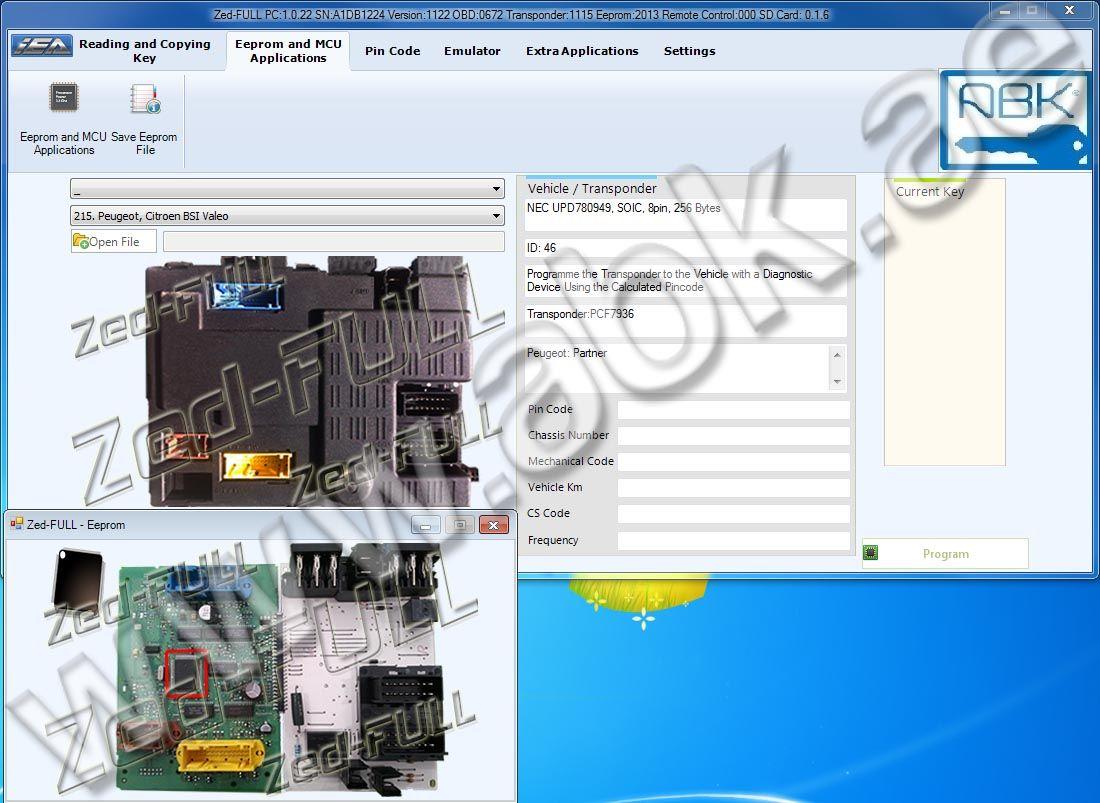 Pin by albaraka key on Zed-Full Transponder key programmer