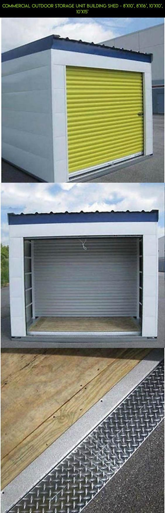Commercial Outdoor Storage Unit Building Shed 8 X10 8 X16 10 X10 10 X15 Kit Camera Products Sh Shed Plans 8x10 Outdoor Storage Units Shed Plans