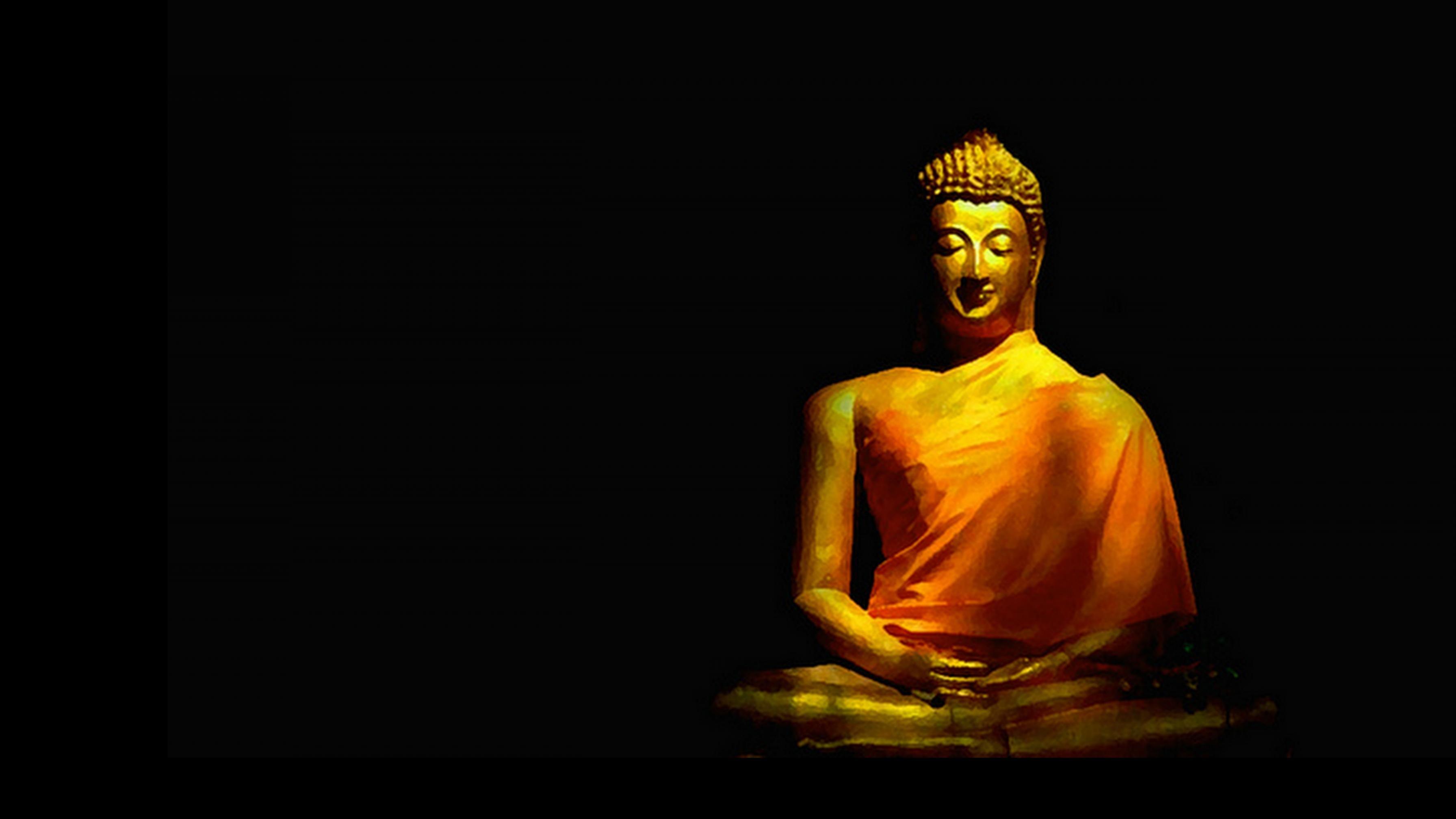 Gautam Buddha Black Background Lord Buddha Wallpapers Buddha