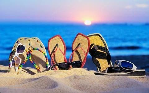 Myrtle Beach Beach Slippers Flip Flops Beach