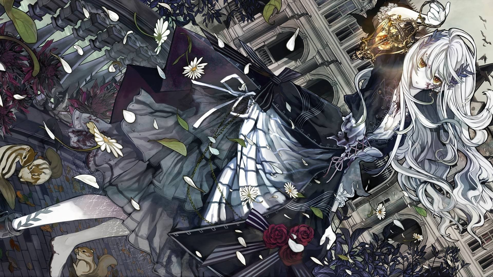 Gothic Anime Desktop Wallpaper Gothic Anime Hd Background Cool