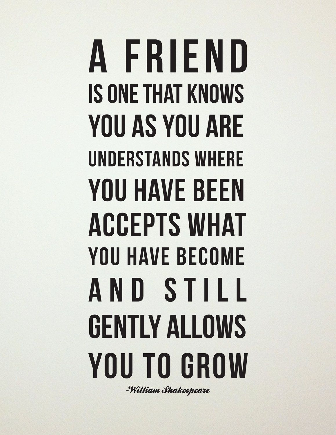 Beatles Quotes About Friendship Definition Of A Friend   More Than Words  Pinterest