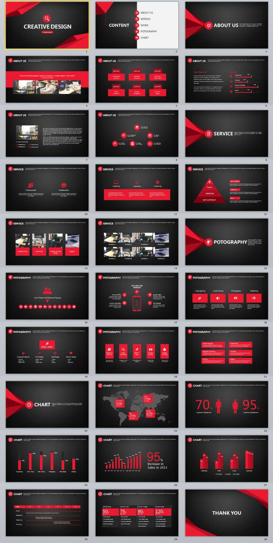 30 black creative design powerpoint template the highest 30 black creative design powerpoint template the highest quality powerpoint templates and keynote templates alramifo Choice Image