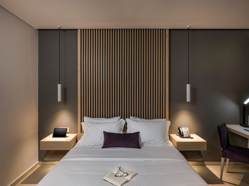 Standard Double Room Chania Town Luxurious Bedrooms Modern Bedroom Design Luxury Bedroom Design Luxury double bed room