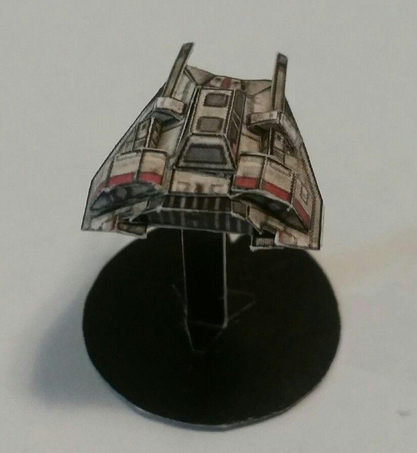 Star Wars Snowspeeder (25x25x5mm)