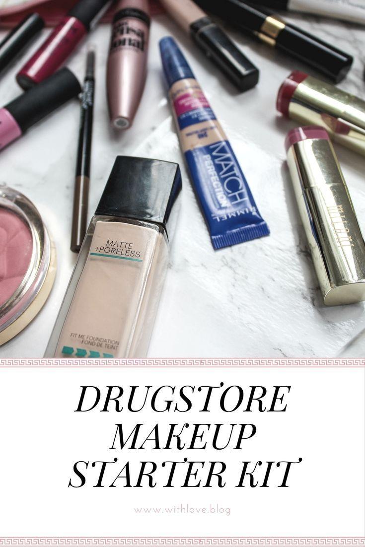 Drugstore Makeup Starter Kit Oily Skin Moisturizer For Oily Skin Drugstore Makeup