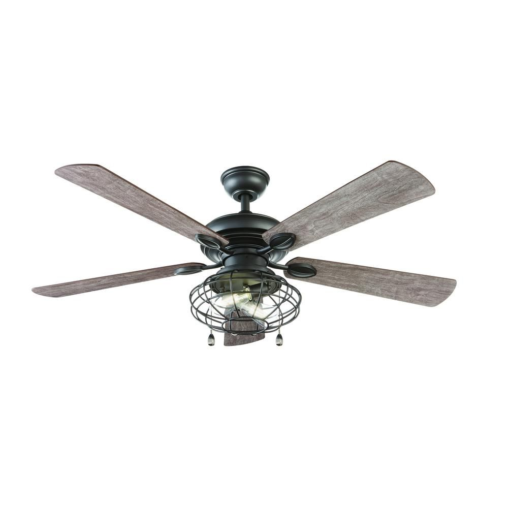 Home decorators collection ellard 52 in led indoor natural iron home decorators collection ellard 52 in led indoor natural iron ceiling fan yg629 ni the home depot mozeypictures Gallery