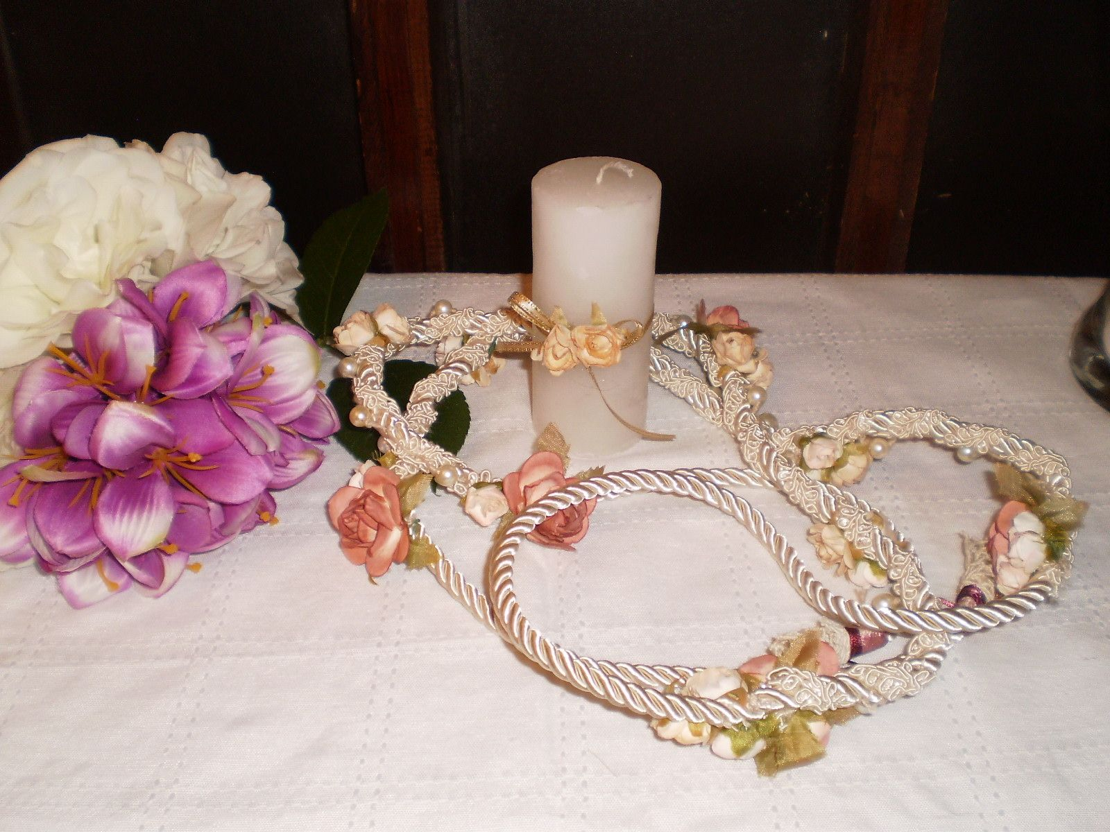 Ideas Matrimonio Simbolico : Lazo para el ritual de atadura manos en matrimonios