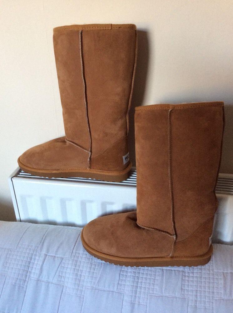ef299336386 PEGIA Naturally AUSTRALIAN BOOTS Suede Soft Sheepskin BNWOB UK8.5 ...