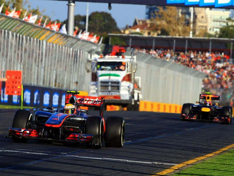 Formula 1 Australian GP Race / L.Hamilton Racing
