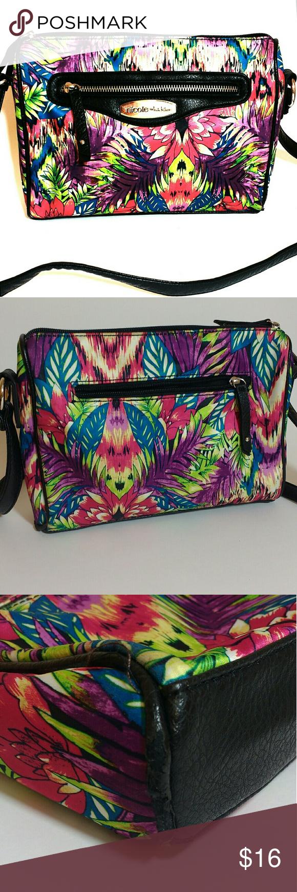 Summer Ready! Nicole Crossbody Floral Purse Floral purse