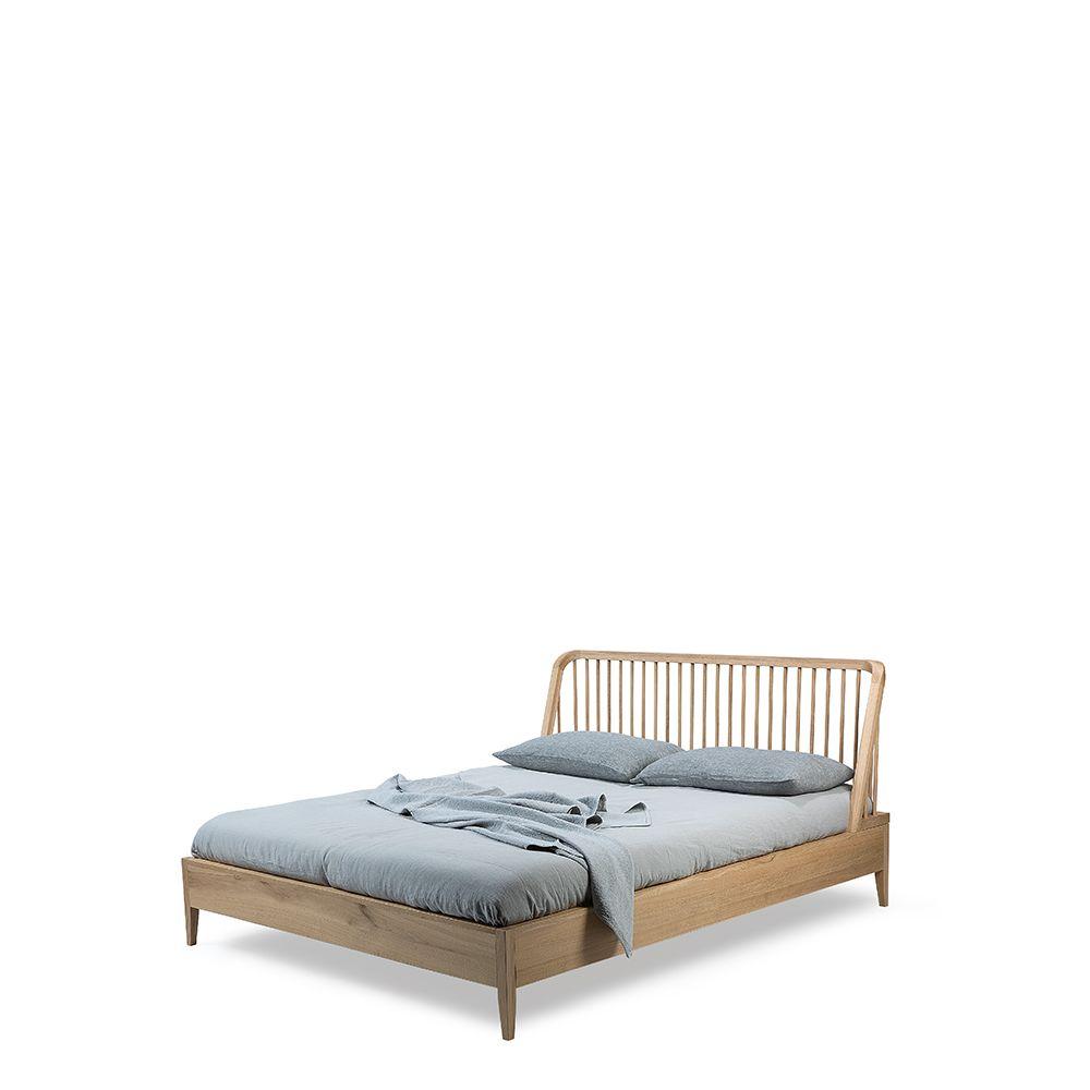 Oak Spindle Bed Spindle Bed King Platform Bed Bedroom Furniture