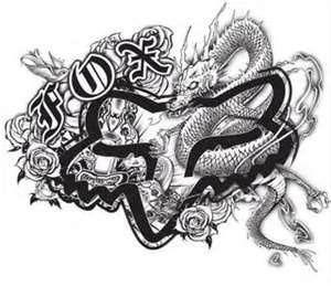 Fox Racing Tattoos Designs Tattoo For Mens 13 Ink Tattoos Picture Fox Racing Tattoos Logo De Fox Fox Racing Fox