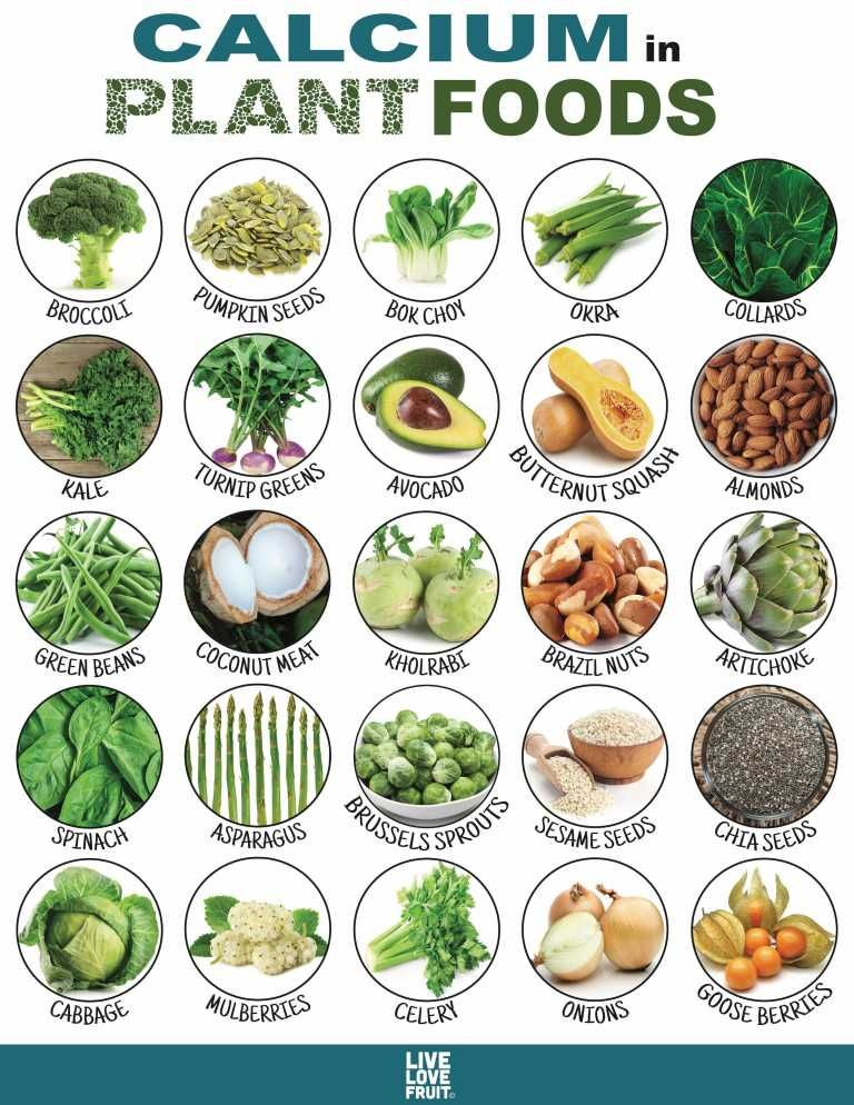 25 CalciumRich Plant Foods That DON'T Come From Dairy! in