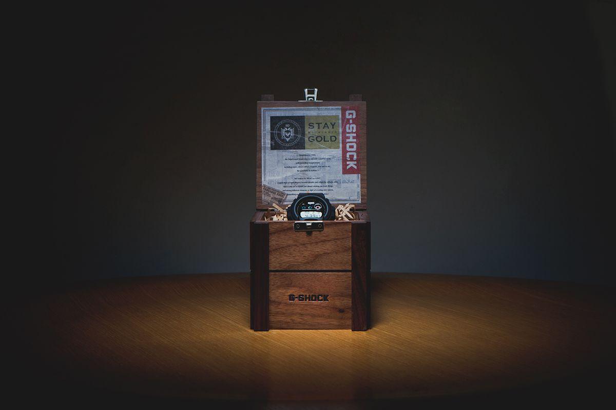 Remix Taipei x Casio G-Shock 10th Anniversary DW6900 Watch
