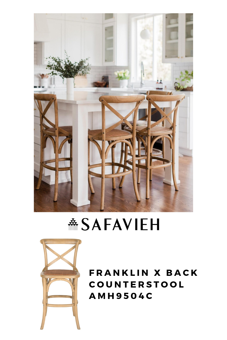 Amh9504c Counter Stools Furniture By Safavieh Counter Stools