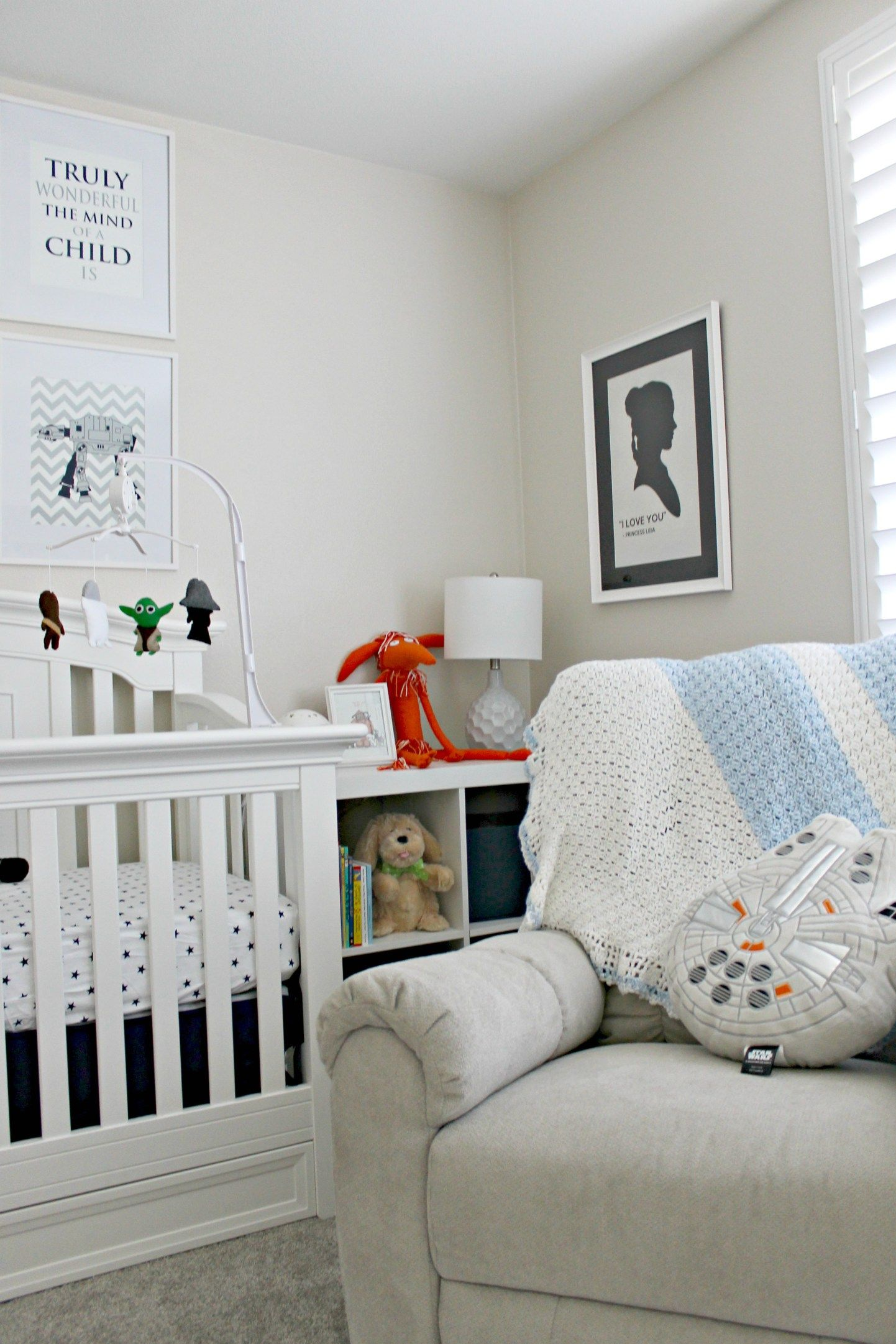 Star Wars Baby Nursery | Star wars baby nursery, Star wars ...