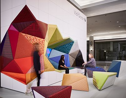 interior creative collection designs office. Office_Excavate Puts The Emphasis On Wolf-Gordon\u0027s Extensive And Beautiful Collection Of Upholstery Textiles While Poetically\u2026 Interior Creative Designs Office E