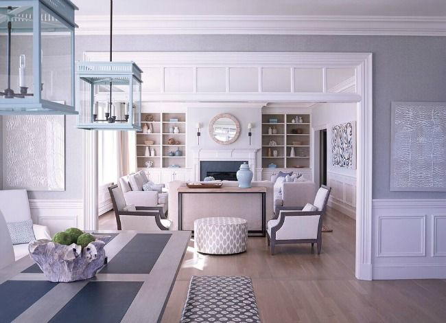 House tour cape cod beach chic cape cod style house - Cape cod house interior ...