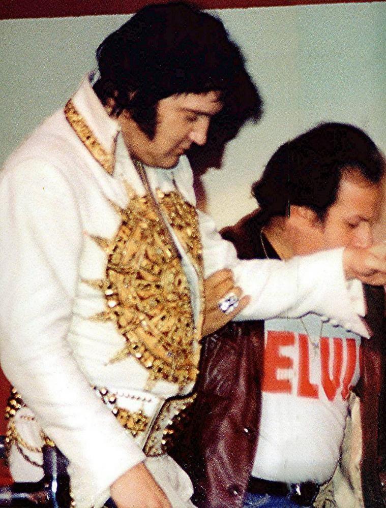 Elvis - Detroit April 22nd 77