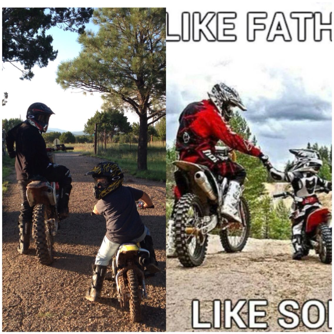 Teach your kids young, keep them busy. Motocross motorsports ...