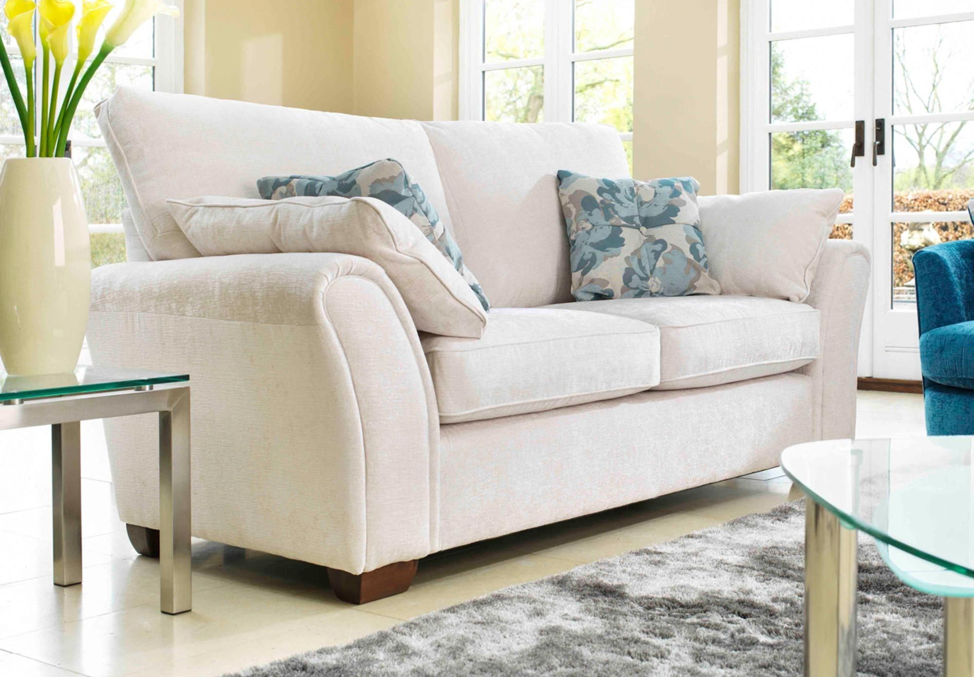 4 Seater Pillow Back Sectional Sofa Furniture