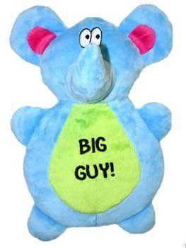 Vo Toys Big Guy Elephant Flapjack Dog Toy 10 Inch Pet Lovers