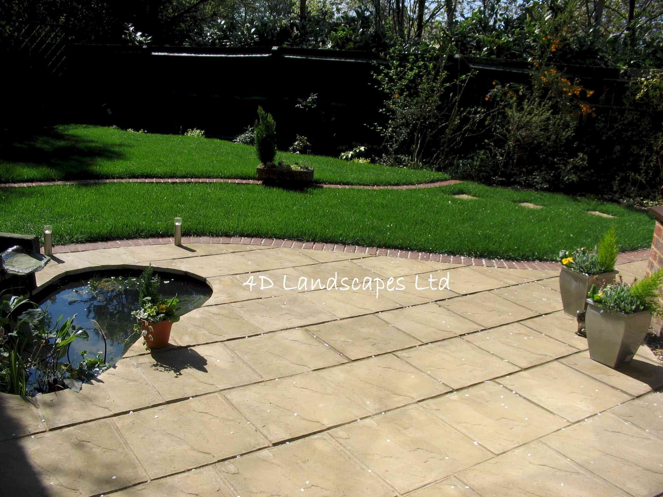 stone patio ideas patio gardens the gardens patio garden
