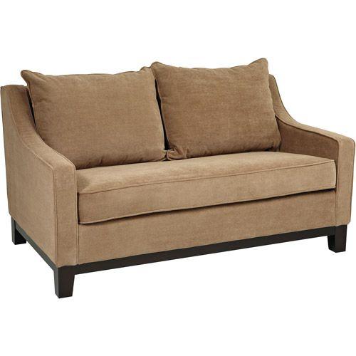 Walmart Online Furniture: Avenue Six Regent Loveseat, Easy Brownstone: Furniture