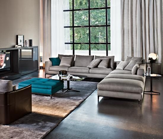 ANDERSEN MINOTTI SOFA SYSTEM  Dream House in 2019