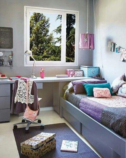 Habitacion femenina dise o de habitaciones en 2019 for Gabinete de almacenamiento para el dormitorio