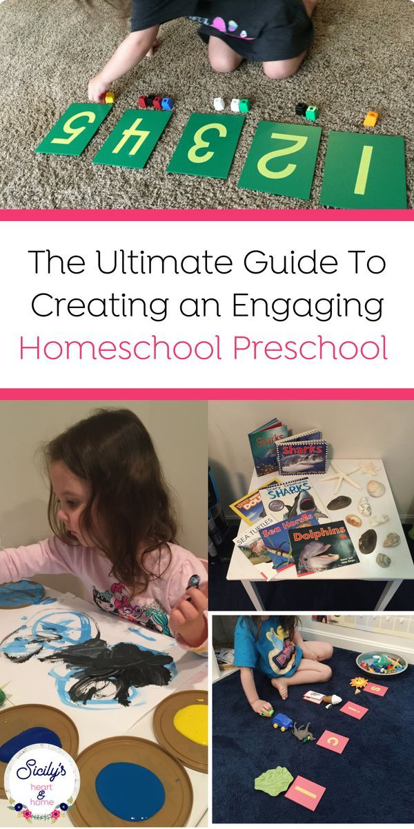 Homeschool Preschool: The Ultimate Guide to Plan & Prep in Less Time ...