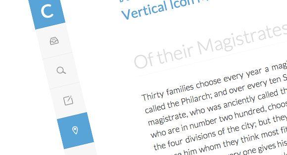 Vertical Icon Menu Icons, Design web and Web development - best of blueprint css menu