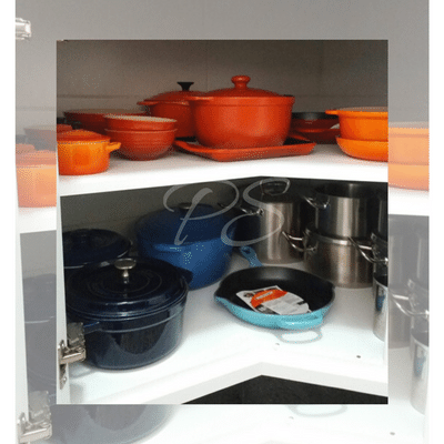 Le Creuset #kitchenorganizer
