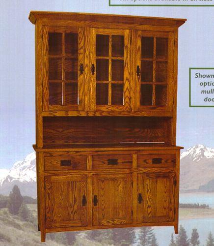Image Detail For   Lmm5479 Cambria Furniture L M Hutches Amish Hutches 54  Mission Hutch .