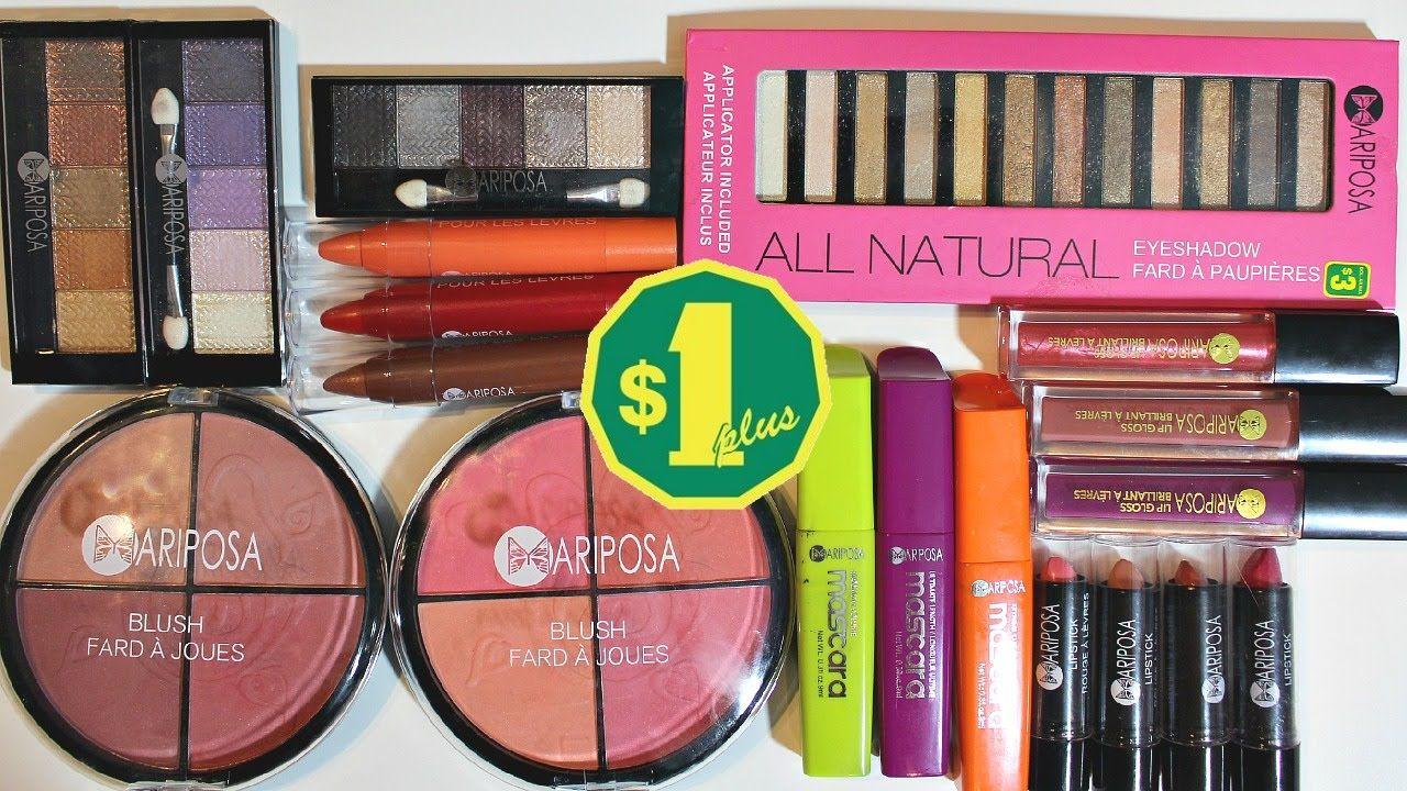 Dollarama Makeup Haul (Mariposa Makeup) + Review