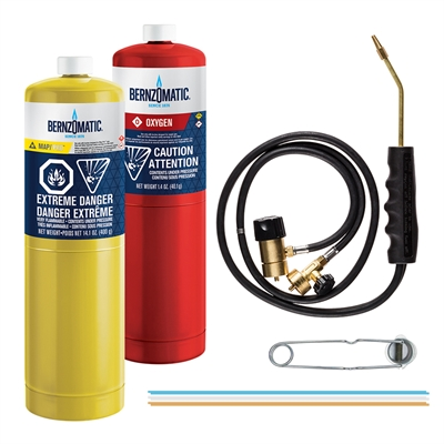BernzOmatic Torch Kit WK5500OX Cutting/Welding/Brazing | Hal