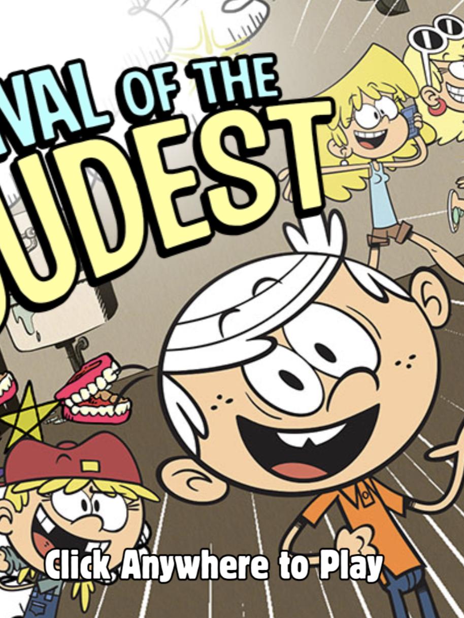 Loud House Games : house, games, House:, Survival, Loudest, Games, Kids,, Crazy, Games,, Online