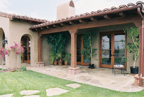 Ranch Style Exterior Design Ideas Pictures Remodel And Decor Spanish Style Homes House Exterior Ranch Style Homes
