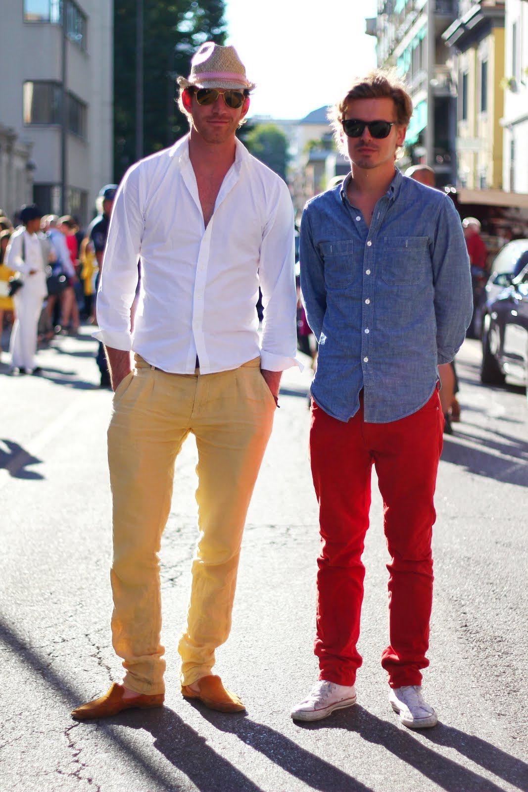 17 Best images about Menswear Trend: Colored Trousers on Pinterest ...