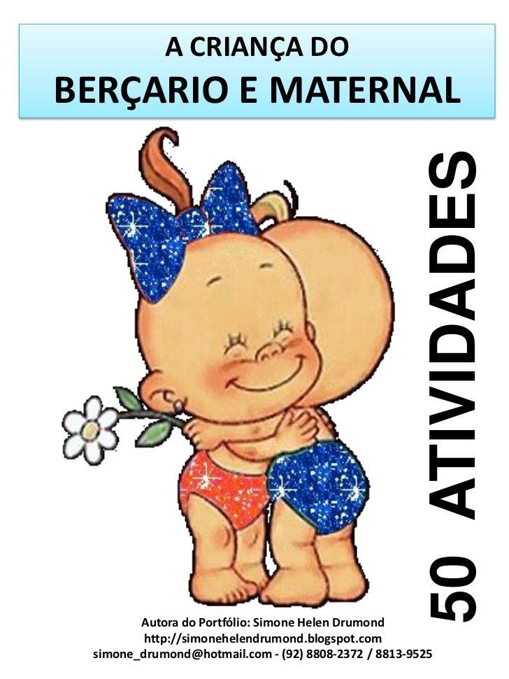 A Crianca Dobercario E Maternal Com Imagens Atividades De