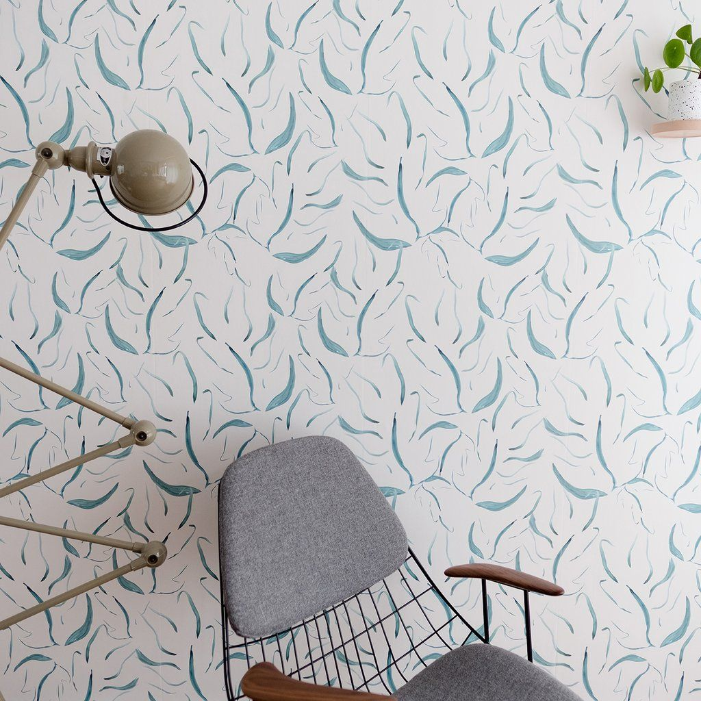 Gamma Kinderbehang Behang Zostera Green In 2019 Natural Behang Wallpaper Color