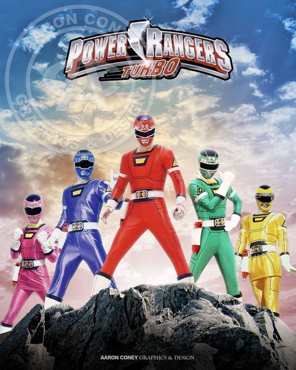 Legendary Rangers Turbo Pr20 Large With Images Power Rangers