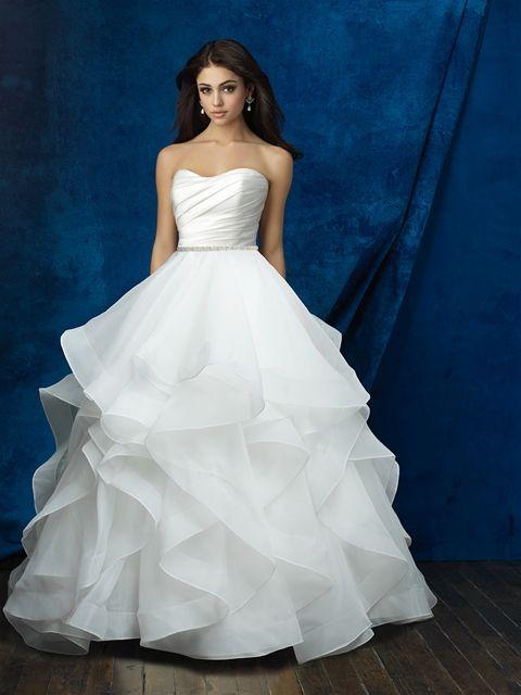 Allure Skirt: A2013 Size 8 on sale at Debra\'s Bridal Shop ...